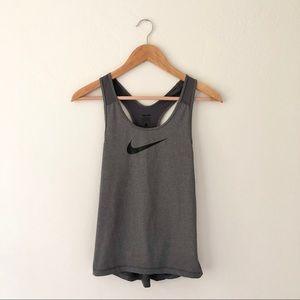 Nike Grey Workout Tank